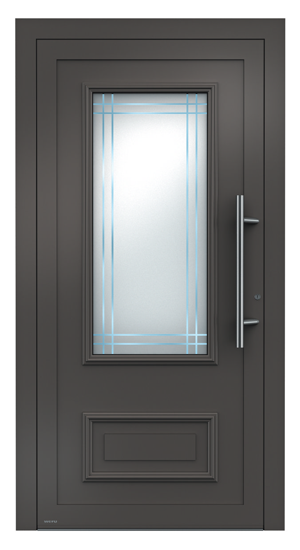 aluminium haust r sedor klassisches haust rdesign weru aluminium haust ren einstiegsmodelle. Black Bedroom Furniture Sets. Home Design Ideas