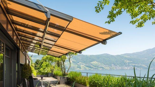 Terrassend Cher Glasdachsysteme Sortiment